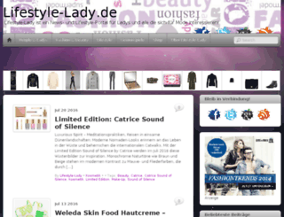 lifestyle-lady.de screenshot