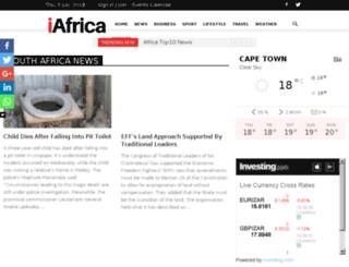 lifestyle.iafrica.com screenshot