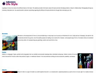 lifestyle.indianetzone.com screenshot