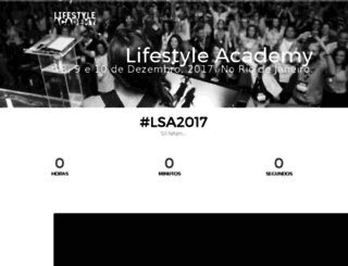 lifestyleacademy.com.br screenshot