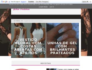lifestyledicasfemininas-su.blogspot.pt screenshot