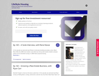 lifestylehousing.ca screenshot