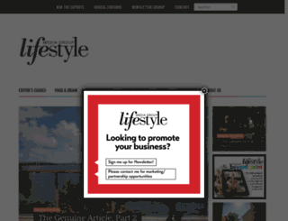 lifestylemagazinegroup.com screenshot