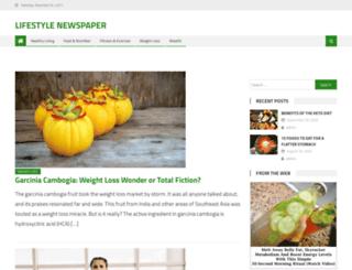 lifestylenewspaper.com screenshot
