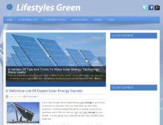 lifestylesgreen.com screenshot