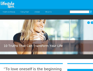 lifestylespirit.com screenshot