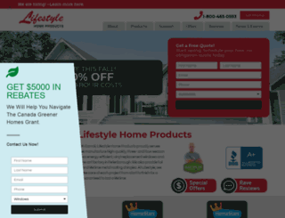 lifestylesunrooms.com screenshot