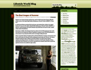lifestyleworld.wordpress.com screenshot