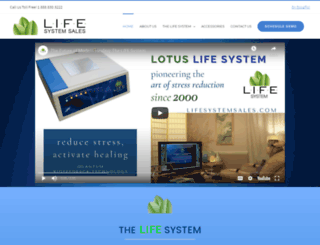 lifesystemsales.com screenshot