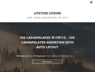 lifetimecoding.me screenshot