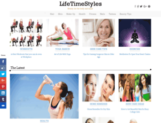 lifetimestyles.com screenshot