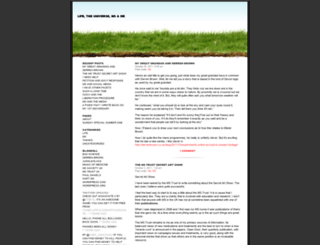 lifeuniversemsandme.wordpress.com screenshot