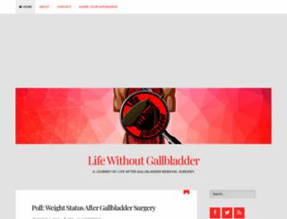 lifewithoutgallbladder.com screenshot