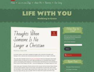lifewithyou1222.wordpress.com screenshot