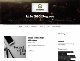 lifex360.wordpress.com screenshot
