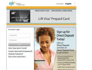 liftcard.prepaidchp.com screenshot