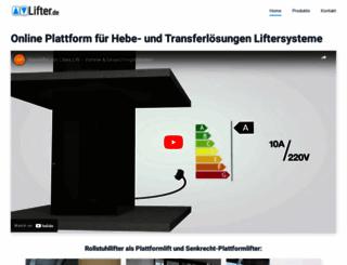 lifter.de screenshot