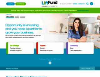 liftfund.com screenshot
