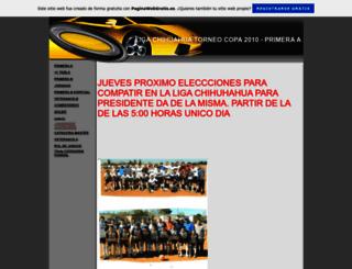liga-chihuahua2009.es.tl screenshot