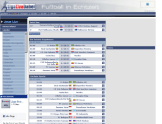 liga-live-dabei.de screenshot