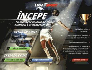 liga.prosport.ro screenshot