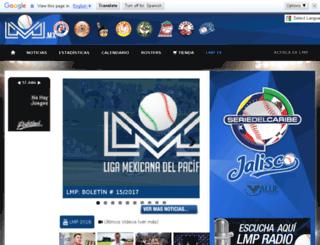 ligadelpacifico.com.mx screenshot