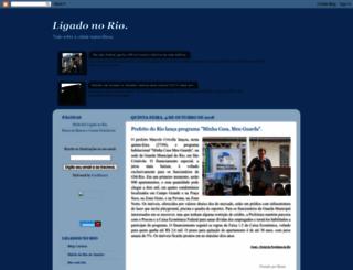 ligadonorio.blogspot.com.br screenshot