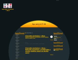 ligamistru.7x.cz screenshot