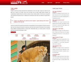 ligerworld.com screenshot