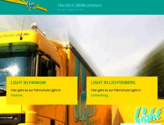 light-die-fahrschule.de screenshot