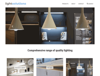 light-solutions.co.uk screenshot