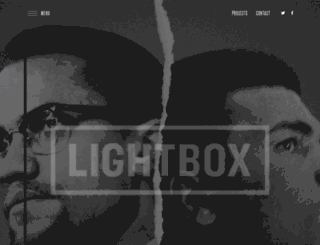 lightboxent.com screenshot