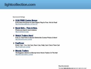 lightcollection.com screenshot
