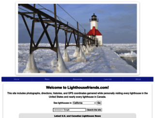 lighthousefriends.com screenshot