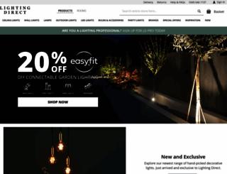 lighting-direct.co.uk screenshot