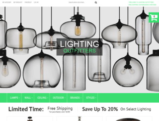 lighting-outfitters.com screenshot