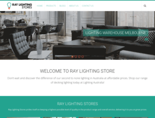 lighting-stores-melbourne.com.au screenshot