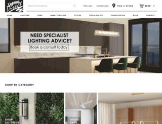 lightingdirect.co.nz screenshot