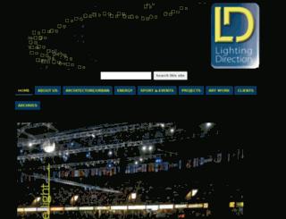 lightingdirection.com screenshot