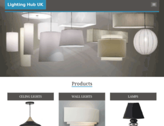 lightinghubuk.co.uk screenshot