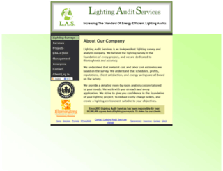 lightingsurvey.com screenshot