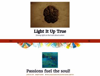 lightituptrue.wordpress.com screenshot