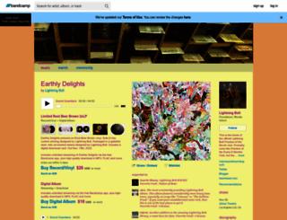 lightningbolt.bandcamp.com screenshot