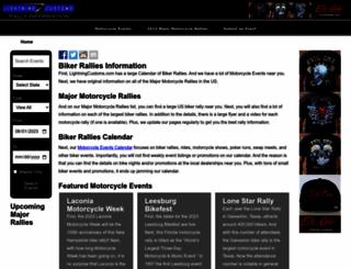 lightningcustoms.com screenshot