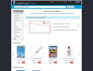 lightningdrops.com screenshot