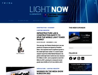 lightnowblog.com screenshot