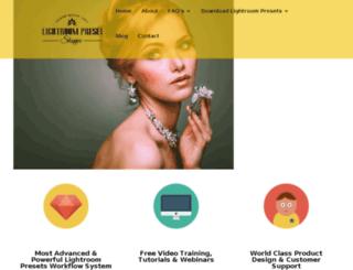 lightroompresetshoppe.com screenshot