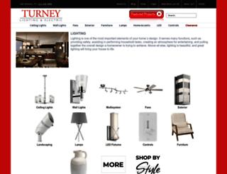 lights.turneylighting.com screenshot