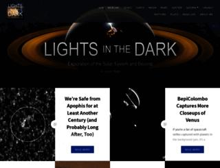 lightsinthedark.wordpress.com screenshot