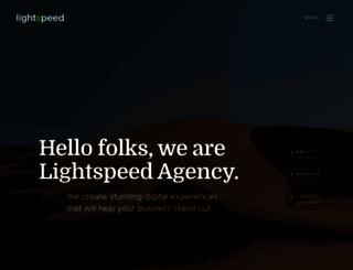 lightspeedme.com screenshot